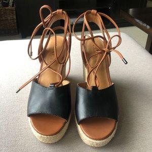 COACH Dana Wedge Sandals
